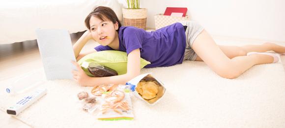 不規則な食事